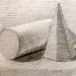 Рисунок гипсовых фигу